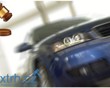 23.8.2018 Dražba automobilu Honda Civic. Vyvolávací cena 60.000 Kč.