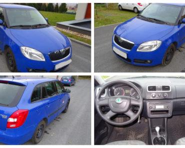 Do 29.8.2018 Výběrové řízení na prodej automobilu Škoda Fabia kombi 1.2 HTP. Minimální kupní cena 59.000 Kč.