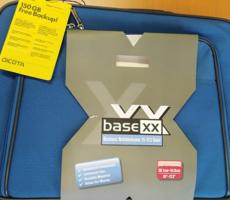 11.9.2018 Dražba brašny na notebook Base XX  – 50 kusů. Vyvolávací cena 4.500 Kč.