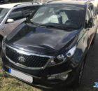 26.9.2018 Dražba automobilu Sportage, Premium 1.7, vyvolávací cena 190.000 Kč