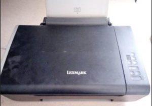 19.9.2018 Dražba tiskárny Lexmark 4433-D01 bez adaptéru. Vyvolávací cena 150 Kč.