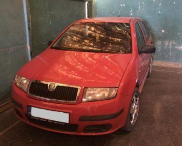 19.9.2018 Dražba automobilu Škoda Fabia 1.2 HTP Classic. Vyvolávací cena 17.000 Kč.