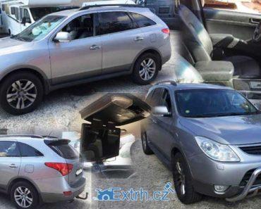 20.9.2018 Dražba automobilu Hyundai IX55 EN 3.0 CRDi 176 kW, vyvolávací cena 75.000 Kč.