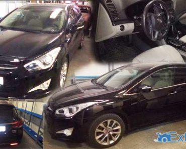 11.9.2018 Dražba automobilu Hyundai i40, kombi. Vyvolávací cena 100.000 Kč.