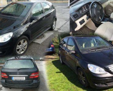 19.9.2018 Dražba automobilu Mercedes-Benz B 180 CDI, vyvolávací cena 13.700 Kč.