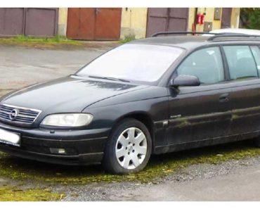 10.10.2018 Dražba automobilu Opel Omega kombi, vyvol. cena 11.600 Kč