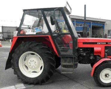 Do 20.9.2018 Prodej zemědělského kolového traktoru ZETOR 7211. Minimální kup. cena 60 000 Kč.