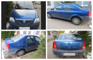 Do 28.9.2018 Výběrové řízení na prodej automobilu Dacia Logan 1.4. Prodej nejvyšší nabídce.