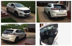 11.10.2018 Aukce automobilu Ford Edge Sport. Vyvolávací cena 720.000 Kč.