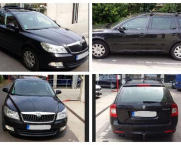 10.10.2018 Dražba automobilu Škoda Octavia 2.0 TDI. Vyvolávací cena 45.000 Kč.