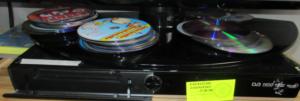 23.10.2018 Dražba DVD přehrávače LG. Vyvolávací cena 200 Kč.