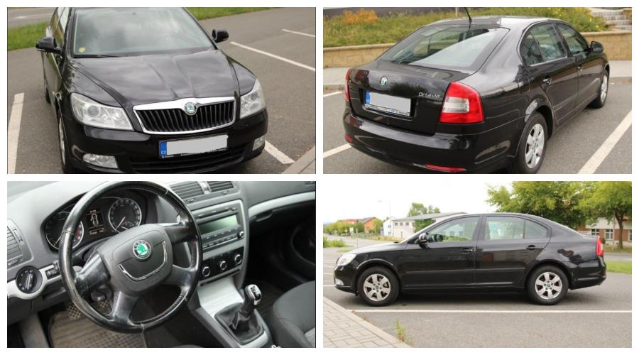 Aukce auta Škoda Octavia, nový majitel ušetřil 45.000 Kč.