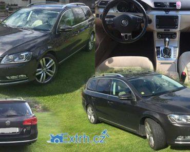 UŠETŘENO 135.000 korun - Dražba automobilu VW Passat 2.0 TDI, 4×4, vydraženo jen 180.000 Kč.