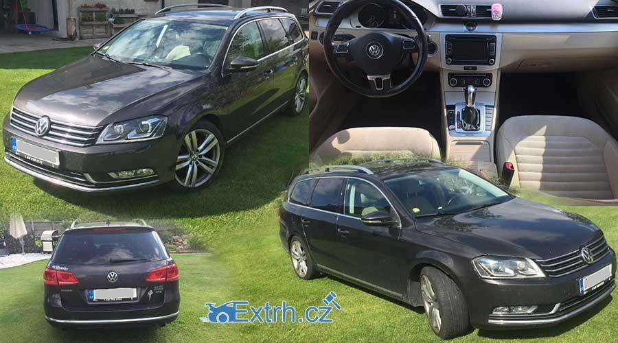 UŠETŘENO 135.000 korun – Dražba automobilu VW Passat 2.0 TDI, 4×4, vydraženo jen 180.000 Kč.