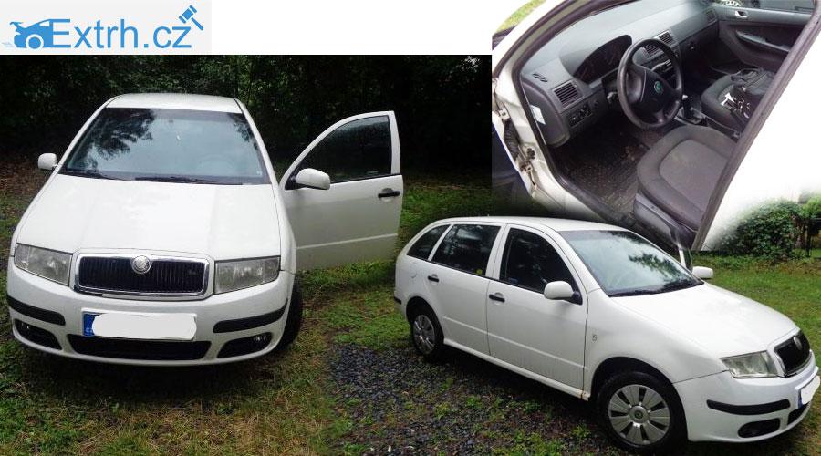 Dražba auta Škoda Fabia Combi v hodnotě 33.000 Kč nebyla vydražena! Nikdo nepřihodil.