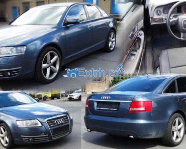 Do 14.10.2018 Aukce automobilu Audi A6 3,0 TDI/165 kW – nepojízdné. Vyvolávací cena 68.200 Kč, ID327972