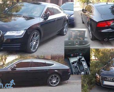 25.10.2018 Dražba automobilu Audi A7. Vyvolávací cena 210.000 Kč, ID327864