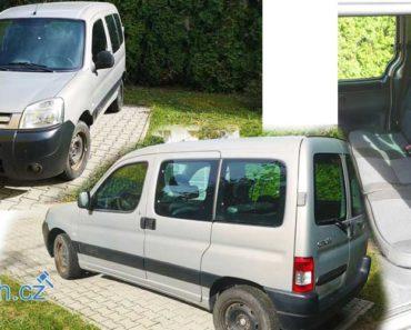 23.10.2018 Dražba automobilu Citroën Berlingo. Vyvolávací cena 25.000 Kč, ID327945