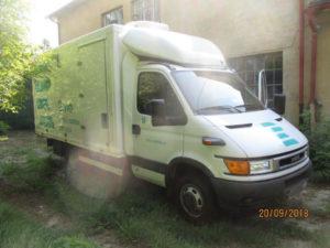 Do 30.10.2018 Výběrové řízení na prodej nákladního automobilu IVECO Daily s nástavbou. Min. kupní cena 196.000 Kč, ID361086