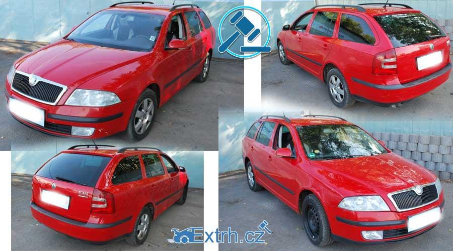 Škoda Octavia Combi – vydraženo za 40.000 Kč.