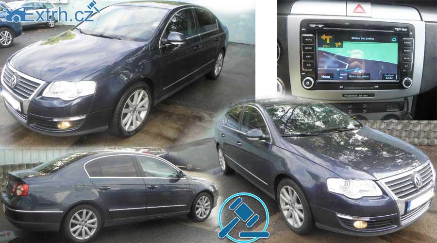 NEVYDRAŽENO – Volkswagen Passat 2.0 TDI, vyvolávací cena 40.000 Kč