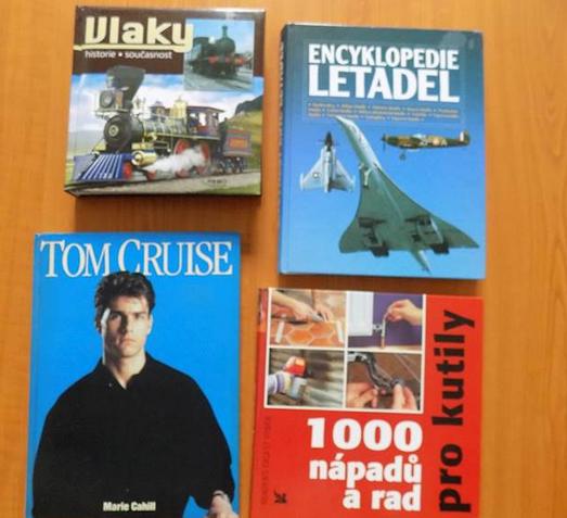 Do 12.11.2018 Aukce 25 kusů knih. Vyvolávací cena 2.890 Kč.