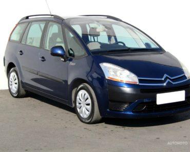 Soukromý prodej auta Citroën C4 Picasso rok 2008 - 120000 Kč, prodej i na splátky.