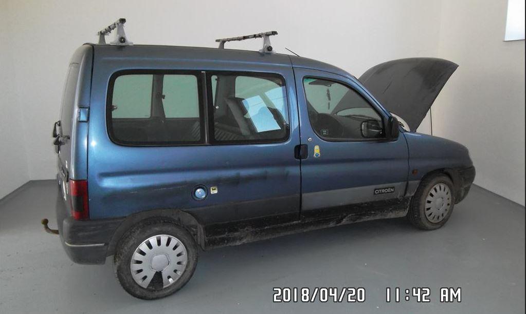 28.11.2018 Dražba automobilu Citroën Berlingo 1.4i. Vyvolávací cena 1.200 Kč.