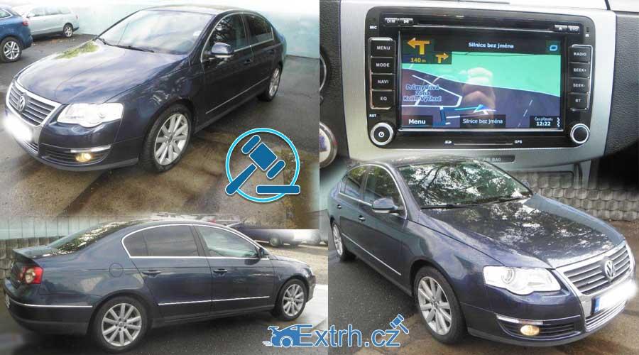 NEVYDRAŽENO – Volkswagen Passat 2,0 TDI. Vyvolávací cena 40.000 Kč