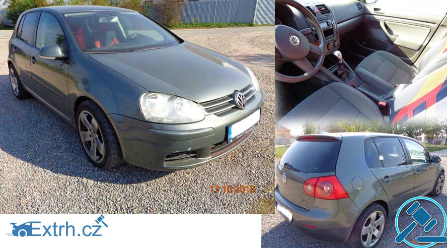 Dražba automobilu Volkswagen Golf, vydraženo za 76.000 Kč ⭐️⭐️⭐️⭐️⭐️