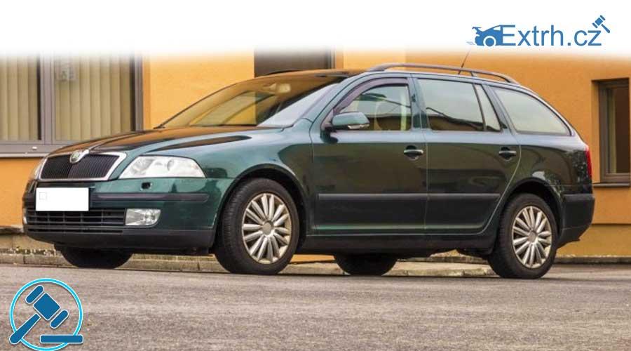 16.11.2018 Dražba automobilu Škoda Octavia. Vyvolávací cena 30.000 Kč, ID381294