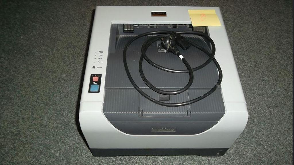 4.12.2018 Dražba laserové tiskárny BROTHER HL-5340DL. Vyvolávací cena  700 Kč.
