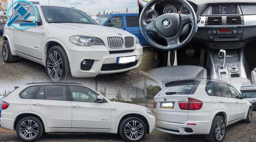 6.12.2018 Dražba automobilu BMW X5 40D XDRIVE, M-PAKET. Vyvolávací cena 365.400 Kč, ID390449