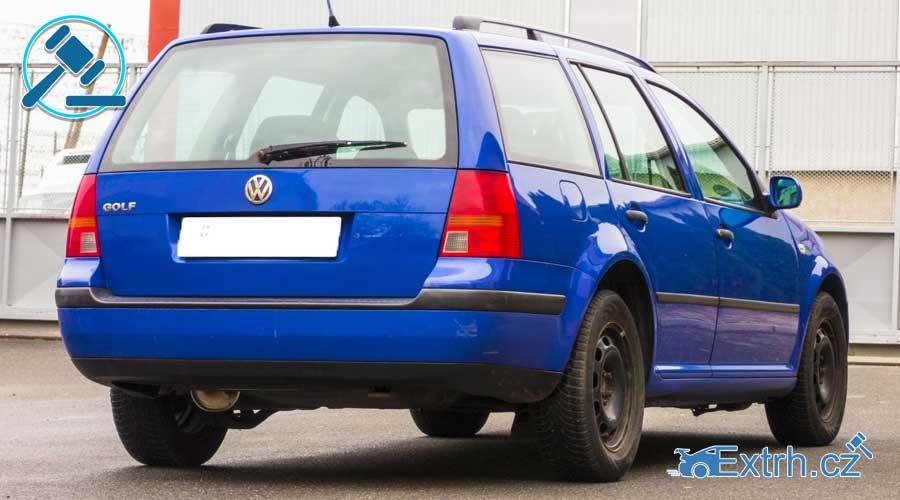 16.11.2018 Dražba automobilu VW Golf. Vyvolávací cena 13.000 Kč, ID381304