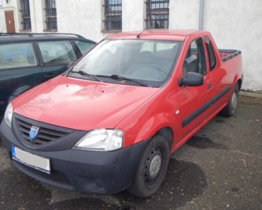 23.1.2019 Dražba automobilu Dacia LOGAN r.v. 2009. Vyvolávací cena 20.000 Kč, ID389204