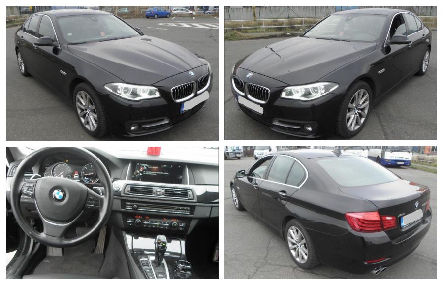 1.12.2018 Dražba automobilu BMW 530 D XDRIVE. Vyvolávací cena 674.000 Kč.