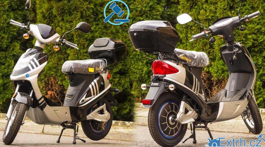 16.11.2018 Dražba motocyklu Guewer. Vyvolávací cena 2.000 Kč, ID381533