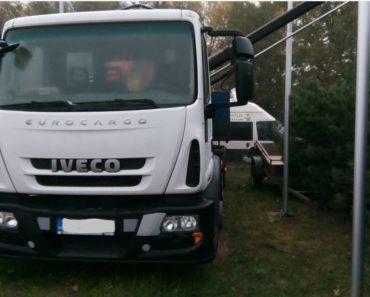 20.12.2018 Dražba automobilu Iveco EUROCARGO - valník. Vyvolávací cena 120.000 Kč.