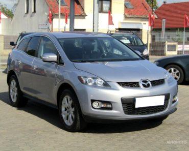 Soukromý prodej auta Mazda CX-7 rok 2008 - 180000 Kč, prodej i na splátky.