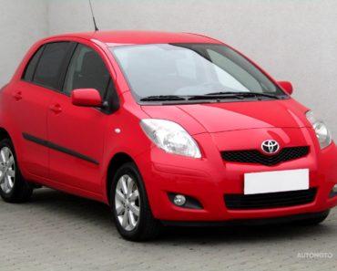 Soukromý prodej auta Toyota Yaris rok 2010 - 120000 Kč, prodej i na splátky.