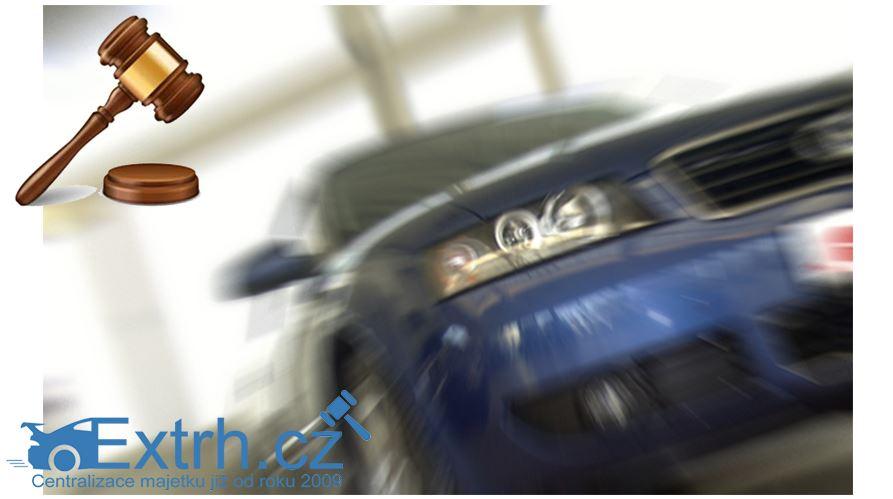 29.11.2018 Dražba automobilu Mazda CX 7. Vyvolávací cena 50.000 Kč.