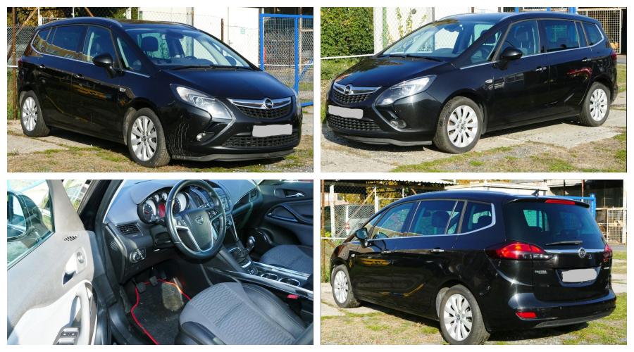 Do 23.12.2018 Aukce automobilu Opel Zafira. Vyvolávací cena 130.000 Kč.
