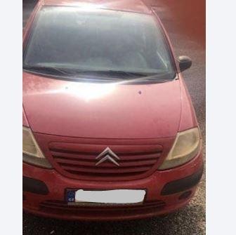 Do 3.1.2019 Výběrové řízení na prodej automobilu Citroën C3 1.1i. Minimální kupní cena 20.000 Kč.