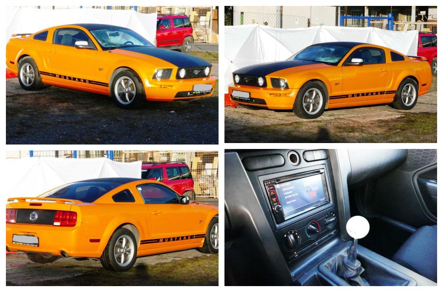 Do 16.12.2018 Aukce automobilu Ford Mustang GT V8. Vyvolávací cena 216.000 Kč.