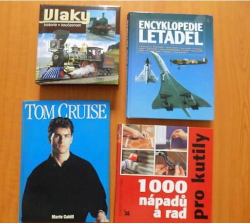 Do 8.1.2019 Aukce 25 kusů knih. Vyvolávací cena 300 Kč.