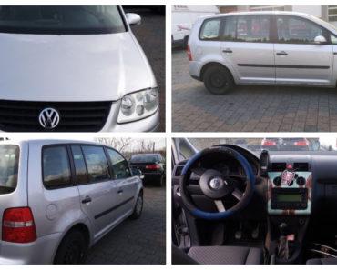 Do 21.12.2018 Výběrové řízení na prodej automobilu VW Touran kombi. Minimální kupní cena 42.000 Kč.
