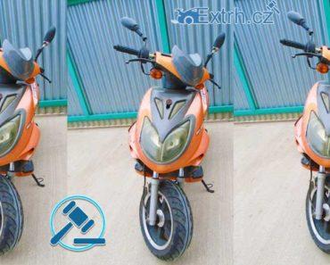 24.01.2019 Dražba motocyklu Wangye 125. Vyvolávací cena 1.500 Kč, ID417869