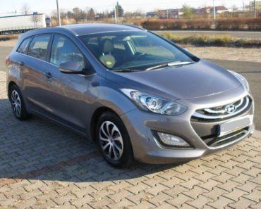 12.12.2018 Dražba automobilu Hyundai i30 combi, r.v. 2013. Vyvolávací cena 40.000 Kč, ID410949