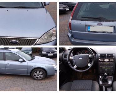 Do 21.12.2018 Výběrové řízení na prodej automobilu Ford Mondeo, kombi. Minimální kupní cena 40.000 Kč.