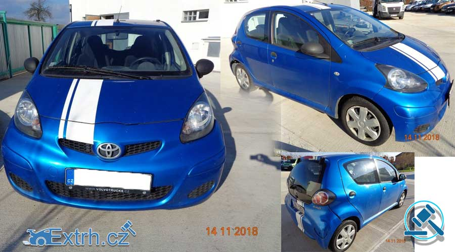 Dražba automobilu Toyota Aygo, vydraženo za 50.000 Kč ⭐️⭐️⭐️⭐️⭐️